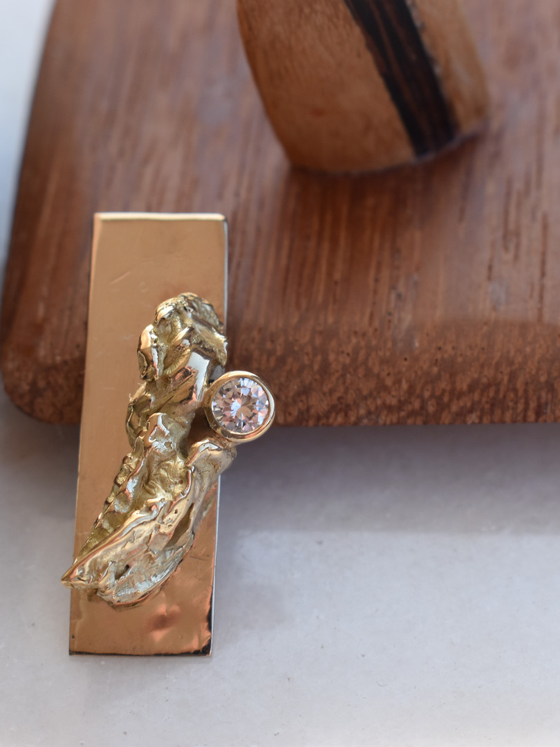 wit & geel goud - diamant kistje in diverse houtsoorten