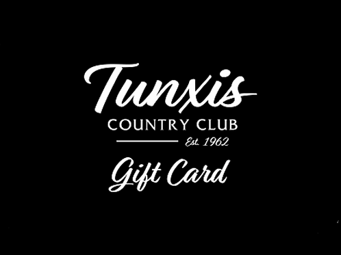 Tunxis Country Club Gift Card