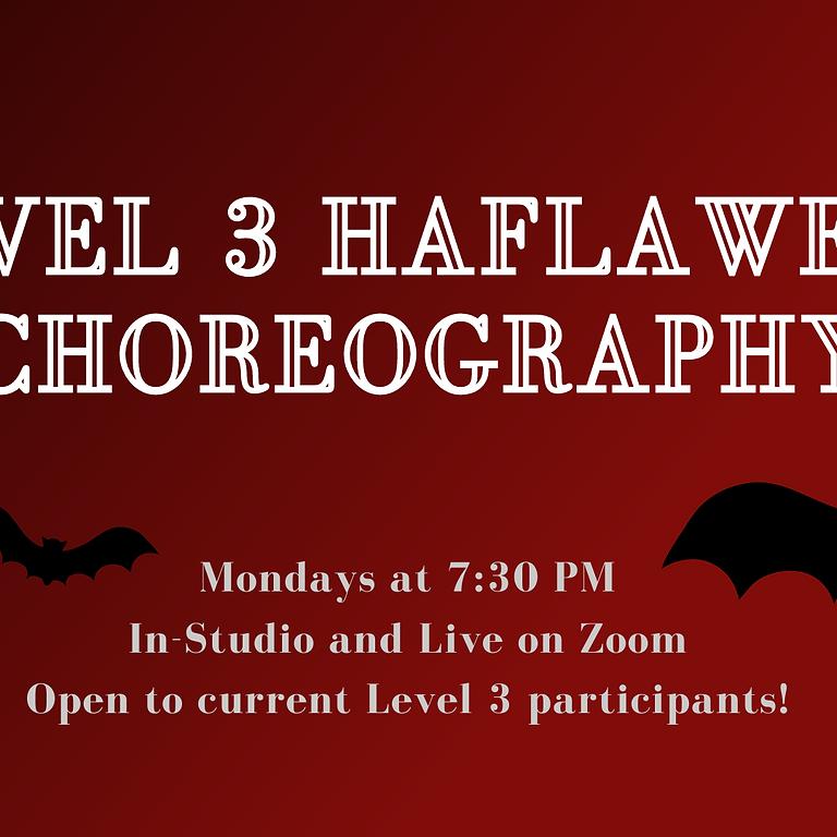 Level 3 Haflaween Choreography
