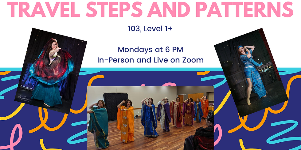 Travel Steps and Patterns (Level 1+)