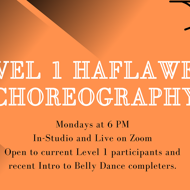 Level 1 Haflaween Choreography