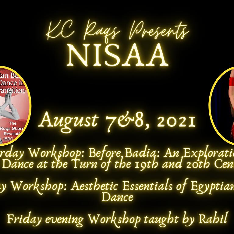 KC Raqs Presents NISAA
