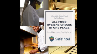 food business compliance with SaFEINTEL LTD