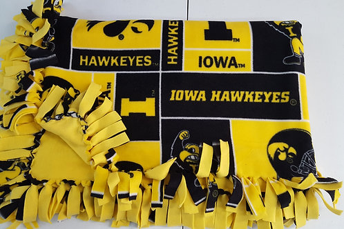 Iowa Blocks Blanket