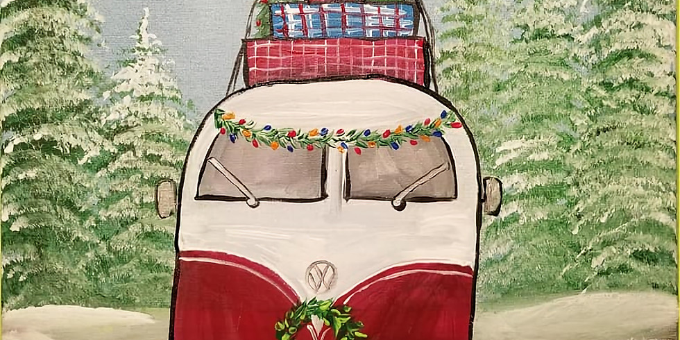 Personalized Hippy Van, Vintage Truck or Tractor