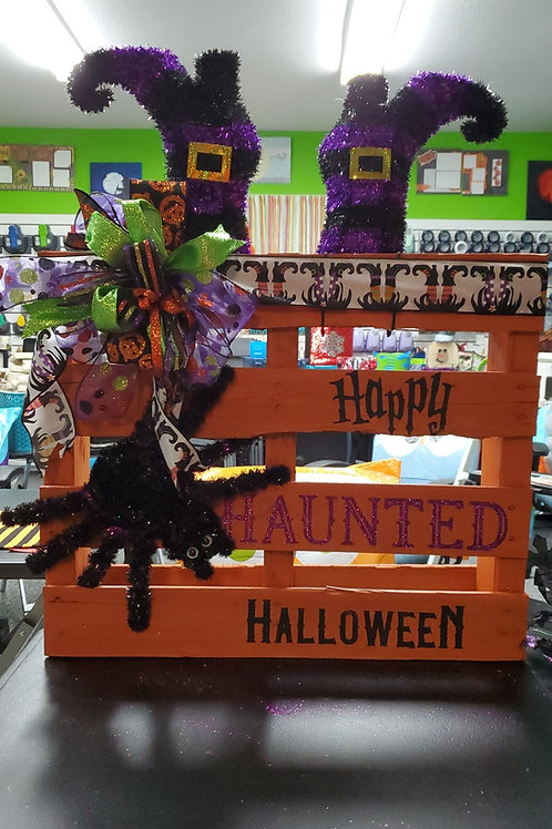 Happy Haunted Halloween Mini Pallet