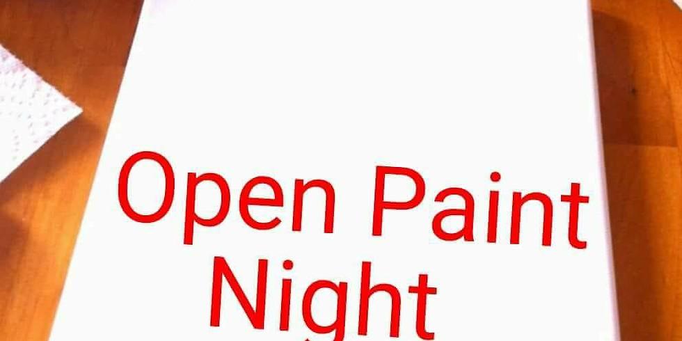 Open Paint Night