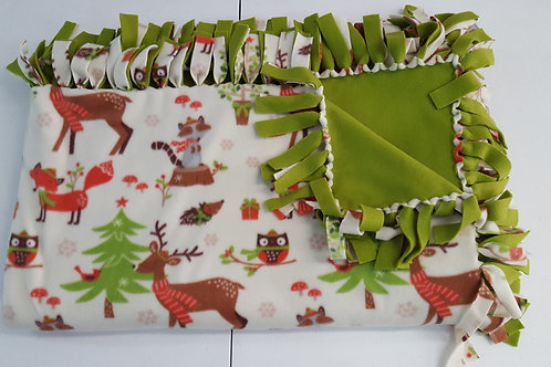 Christmas Animal Fleece Blanket