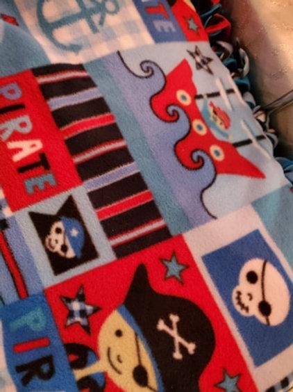 Pirate Fleece Blanket