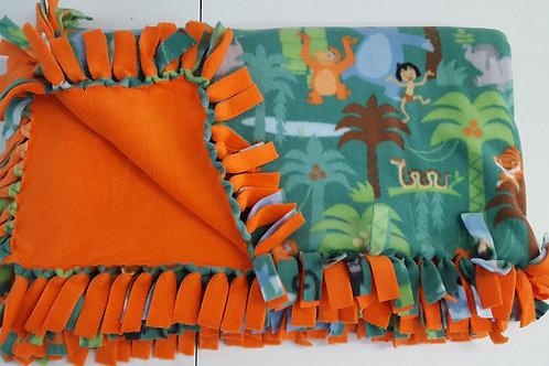 Jungle Book Fleece Blanket