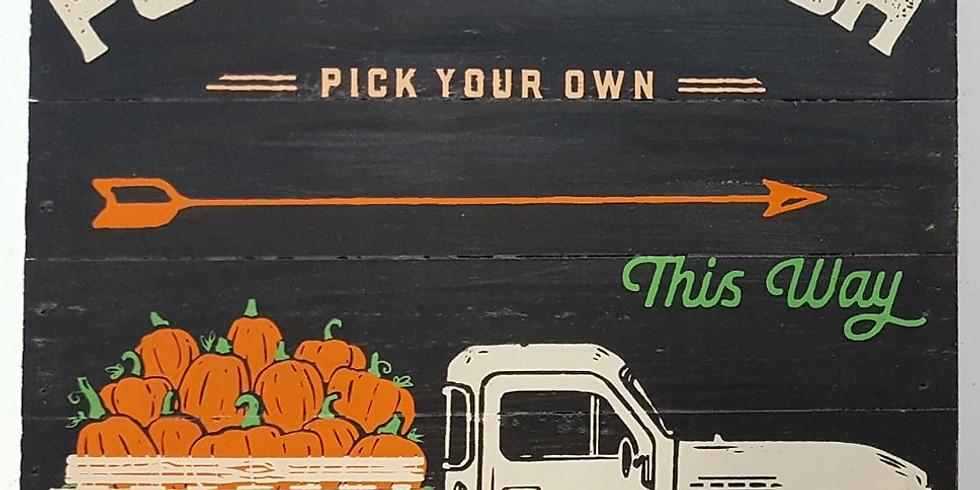 Fall Pumpkin Patch Truck