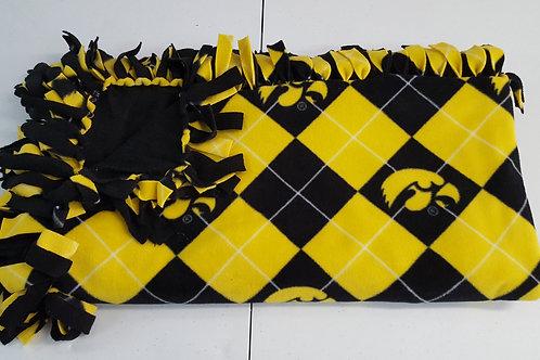 Iowa Tartan Blanket