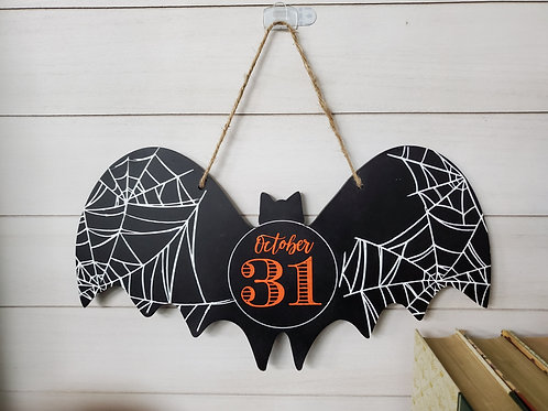 Oct 31 Bat Wall Hanging