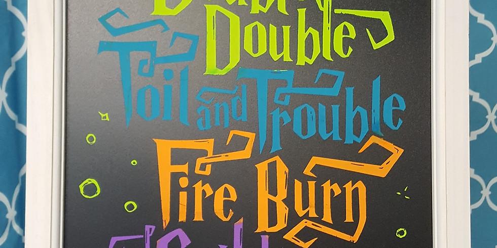 Double Trouble Cauldron Bubble