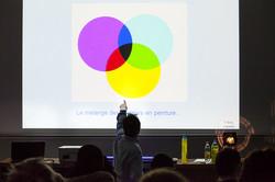 Conférence sur la lumière