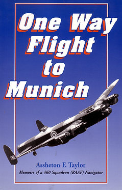 Biography: One Way Flight to Munich (Taylor - AMHP)