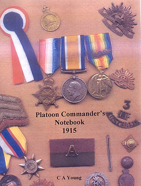 Gallipoli: Platoon Commander's Notebook (Young - AMHP)