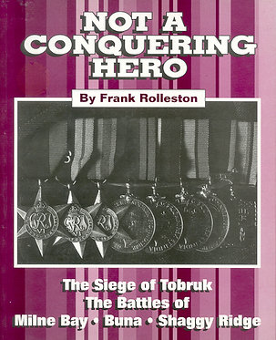Autobiography: Not a Conquering Hero (Rolleston - AMHP)