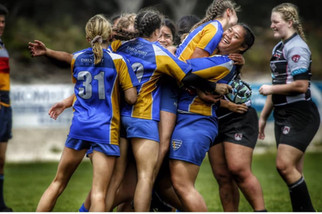 Burraneer Rugby U17 Girls 7s 2018 State Champs