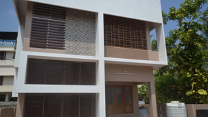 Residence under construction,