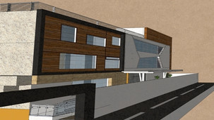 Proposed elevation for a bank at Kottayam