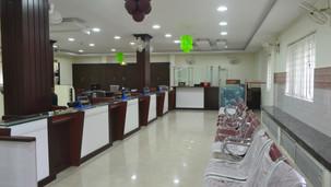Bank interiors at Anchal