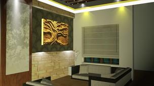Residence for Mrs Beena at Kayamkulam