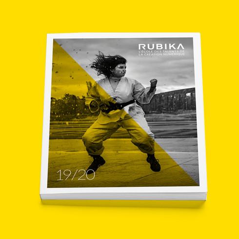 Design & réalisation brochure RUBIKA 2019-2020