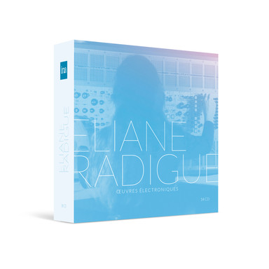 Design coffret 14CD - Eliane Radigue - INA