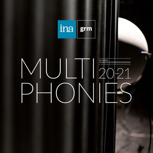 Design graphique Multiphonies 2020-21 - INA GRM