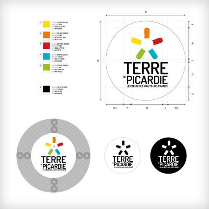 Identité visuelle & charte graphique - TERRE DE PICARDIE
