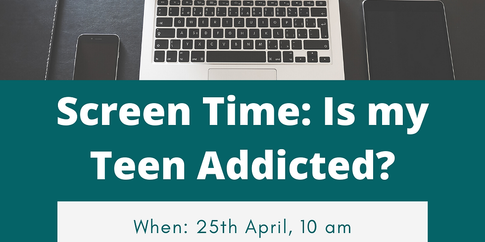 Screen Time: Is My Teen Addicted?