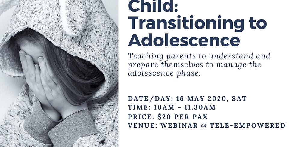 My Special Needs Child: Transitioning to Adolescence