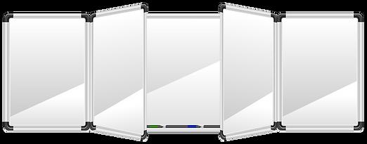 Swing Leaf Whiteboard 5 Piece