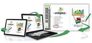Oktopus interactive LED touch and tablet