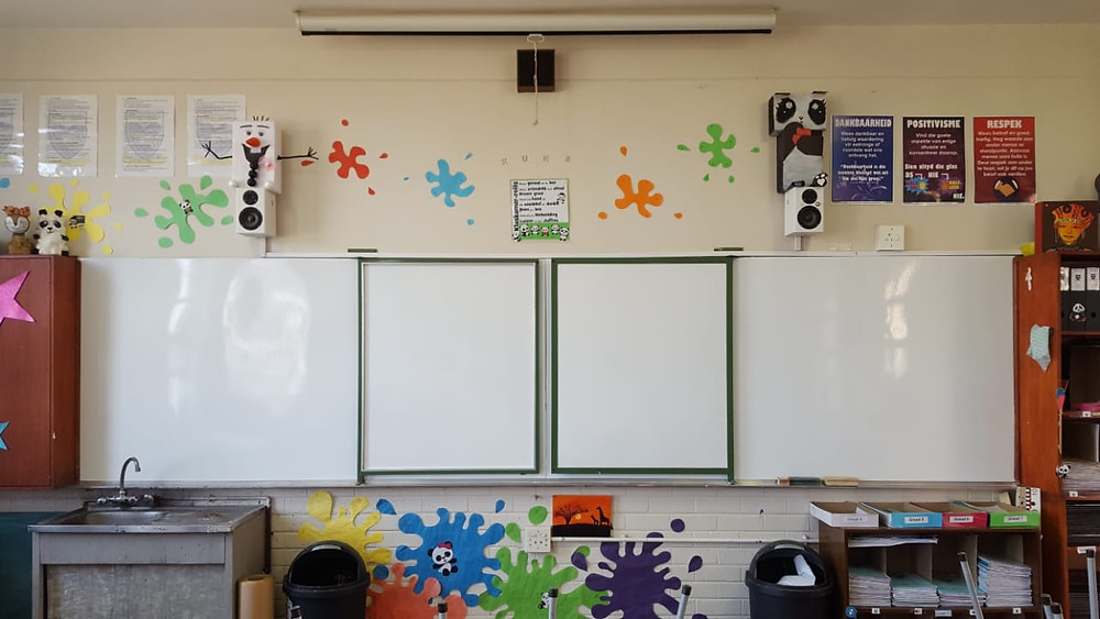 EduBoard whiteboard resurfacing