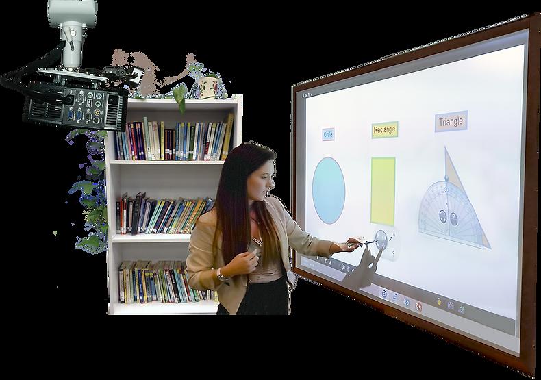 EduMax-Pro Interactive Touch Board