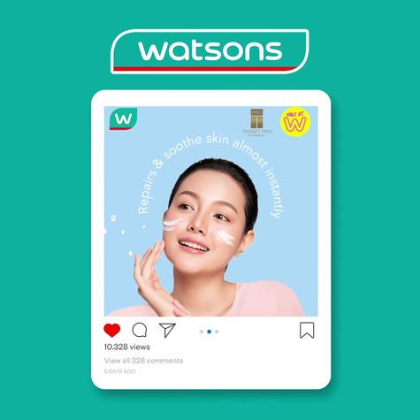 Watsons Malaysia Social Media Content