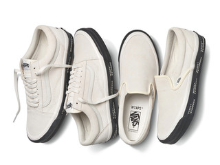 """WTAPS Teams Up With Vans For These """"GPS"""" Inspired Kicks"""