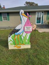 Girl Stork