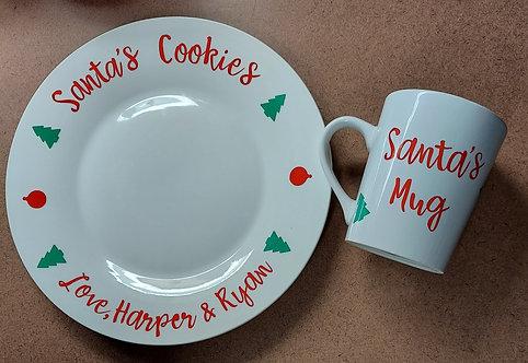 Santa's Cookies Set