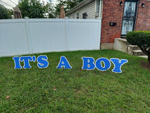 Its A Boy Lawn Letters - Roosevelt