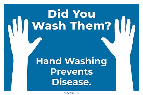 Did You Wash Them?