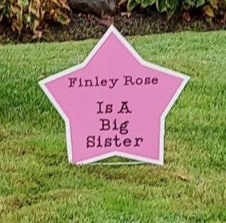 Sibling Lawn Sign - Rental
