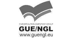 GUE NL Logo zw SLIDE