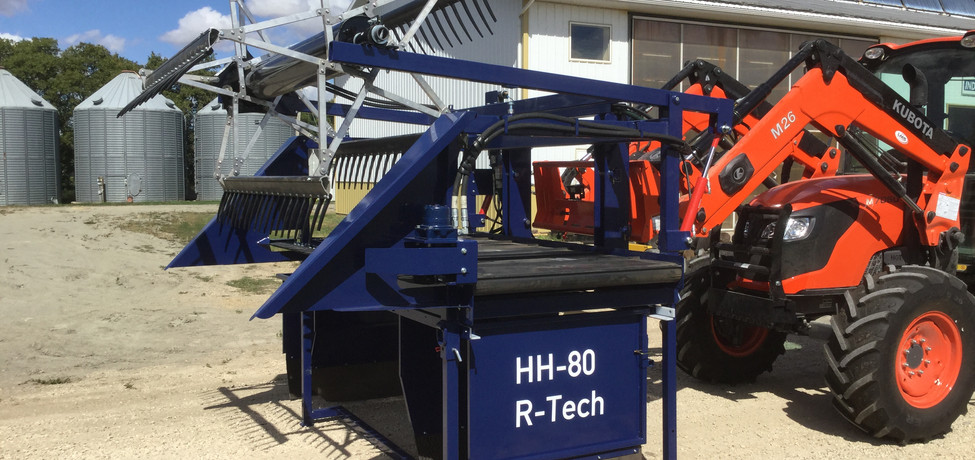 HH-80 Hemp Harvester