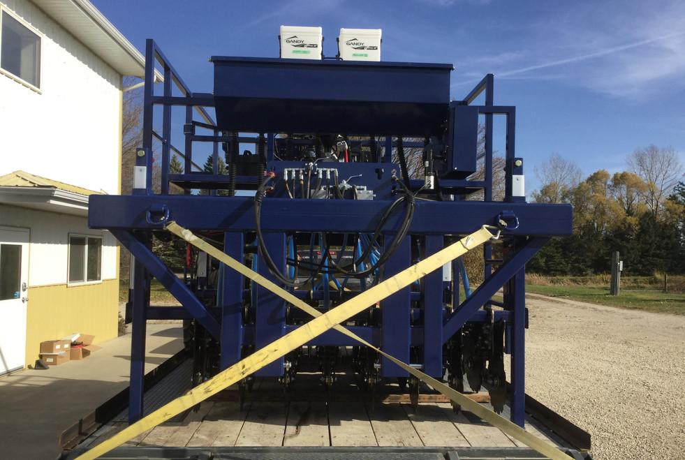 JT-8DSM Plot Seeder