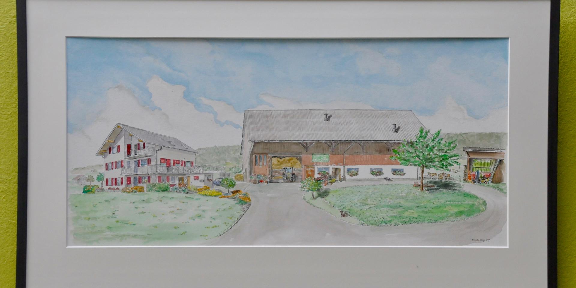 Bauernhof in Uznach