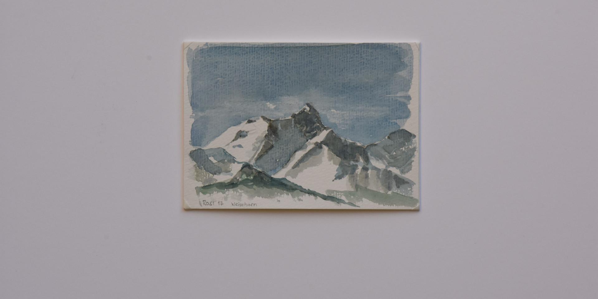Weisshorn von Grand Monana