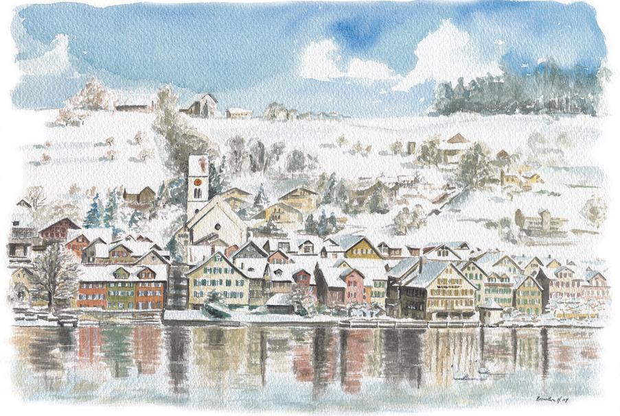 Schmerikon_Winter